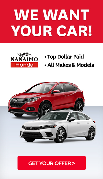 We want your car! Get your offer